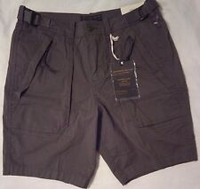 """ABERCROMBIE AND FITCH Mens Paratroop Shorts W 30"""" Olive Green 97% Cotton Stretch"""
