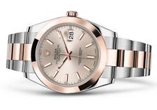 Rolex Datejust II 41mm Two-Tone 18k Rose & Steel Sundust dial 126301 BRAND NEW