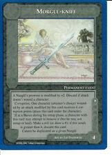 MIDDLE EARTH BLUE BORDER PREMIER RARE CARD MORGUL-KNIFE