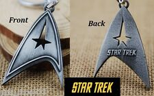 Star Trek Communicator Key chain Antique silver color Collectible gift decor