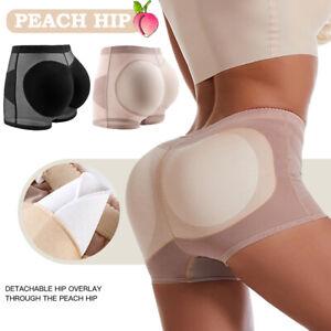 Damen PushUp Po Butt Lifter Höschen Hüfte Hose Gepolstert Hip Enhancer Shapewear