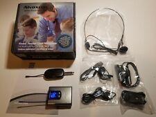 Alvoxcon Wireless Headset Lapel Microphone System TG-210