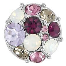 Purple Snap Gp05-25 Interchangeable Jewelry Petite Ginger Snaps Vintage Brooch