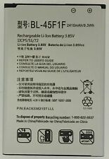 New Battery for LG Fortune 2 / Risio 3 / Phoenix 4 BL-45F1F *Same Day Ship*
