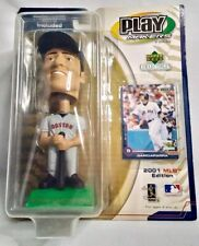 NEW Vintage Nomar Garciaparra Boston Red Sox Upper Deck Play Makers Bobblehead