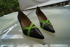 Pedro Garcia espana Damen Schuhe Pumps High Heels Absatz luxus Gr.39 Leder #14