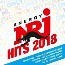 ENERGY HITS 2018  2 CD NEUF