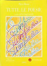 TUTTE LE POESIE - Piero Bozzo (A c. di P.L. Gardella) - A COMPAGNA 1993