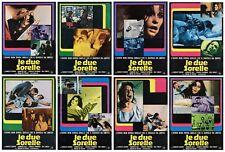 Le Due Sœurs Set Fotobusta 8 Pz. Film Thriller de Palma 1973 Sister Lobby Card