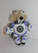 """Ice Age Collision Course Scrat Plush Soft Toy Large 2016 7"""" With Tags"""
