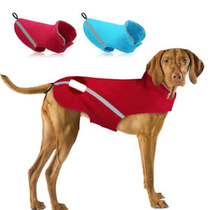 Pets Clothes for Large Dogs Big Dog Fleece Coat Reflective Jacket Pitbull Boxer