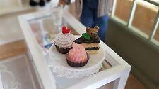 Piatto DI FANTASIA TORTE PER 1:12th scala casa delle bambole Panificio negozio in miniatura UK
