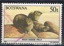 Botswana 1987. Animals. 50t. Rock Dassie. Used.