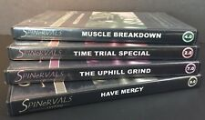 Spinervals Lot Of 4 Competition Series Indoor Cycling Workout Dvd Series
