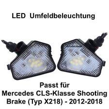 2x LED TOP SMD Umfeldbeleuchtung Weiß Mercedes CLS-Klasse Shooting Brake (7225)