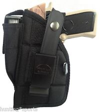 Walther P22 with laser Gun Holster use holster L or R hand carry by Protech