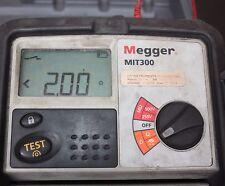 Megger MIT300 250/500V Megohm meter Insulation and Continuity Tester