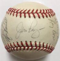 1991 PHILADELPHIA PHILLIES Team Signed Baseball JOHN KRUK DARREN DAULTON BACKMAN