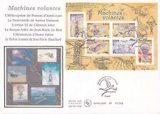 Enveloppe grand format 1er jour 2006 Machines Volantes