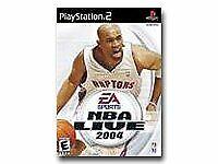 NBA Live 2004 Sony PlayStation 2 PS2