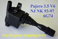 IGNITION COIL PACK for MITSUBISHI PAJERO NJ NK V6 3.5L DOHC 93-97 6G74