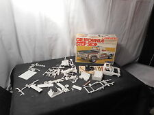 Model Kit Step Side Pick up Datsun NOT COMPLETE