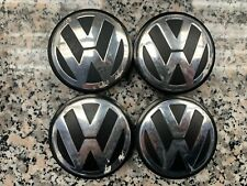VW Volkswagen SET 4 Coppe ruota, Coprimozzo, Copri Ruota ORIGINALI 3B7601171 XRW