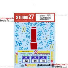 1/24 2015 Nurburgring Mercedes SLS GT3 #33 Team Premio decals Studio 27 DC1101