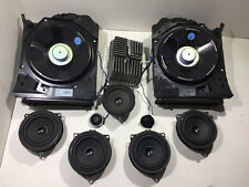 BMW 3 F31 HIFI SISTEMA AUDIO COMPLETO KIT AMPLIFICATORE SUBWOOFER SPEAKES impostato
