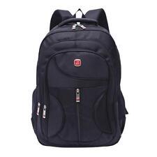 Men Women Black Laptop Backpack Sports Rucksack Package Camping Outdoor