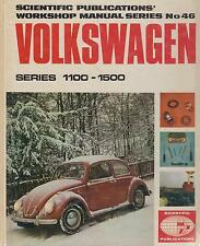 VW Beetle 1100 1200 1300 1500 Inc SPLIT SCREEN & Ovale 1950 - 1970 Manuale di riparazione