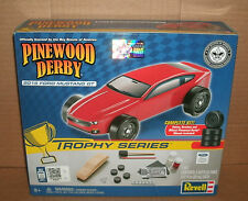 BSA Pinewood Derby Car 2015 Ford Mustang GT Pinecar Derby Racer Revell RMXY9419