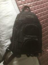 camera rucksack bag black