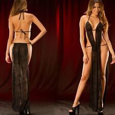 Sexy Women's Lace Lingerie Nightwear Pole dance G-string Babydoll Clubwear Dress
