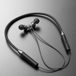 Wireless Neckband Bluetooth Earphones Magnetic Sports Headset With Mic Earbuds