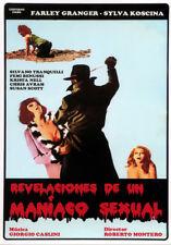 REVELACIONES DE UN MANÍACO SEXUAL (DVD PRECINTADO) SYLVA KOSCINA -TERROR GIALLO