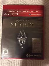 The Elder Scrolls V Skyrim *GREATEST HITS* for PS3 ***NEW FACTORY SEALED***