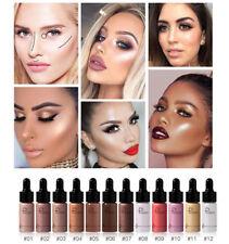 Pudaier Women Shine Lips Face Bronzer Make up Highlighter Glow Contour Liquid FP