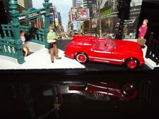 2012 -1955 CONVERTIBLE CORVETTE WITH RUBBER TIRES & RED FIVE SPOKE  MAG WHEELS!