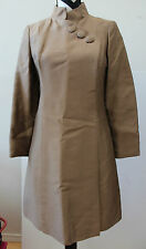 Vintage S. HOWARD HIRSH Brown Lined Over Coat L#210e