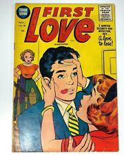 1955 First Love #58 Fine Condition Golden Age Comic 10¢ Cover True Love Comic