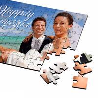 Personalized Printed Your Photo Jigsaw Puzzle Custom Photo Birthday Wedding Gift