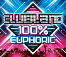 Various - Clubland 100% Euphoric (2016) BRAND NEW SEALED 3CD