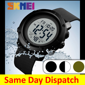 SKMEI Digital Sports Watch Mens Waterproof Water Resistant Casual Military 1426