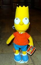 Bart Simpson Plush Doll, Applause, 300th Episode, New with Tags, Stand, Keychain
