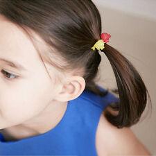 100pcs Elastic Rope Baby Girls Kids Hair Ties Ponytail Holder Hairbands