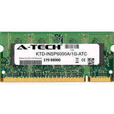 1GB DDR2 PC2-4200 SODIMM (Kingston KTD-INSP6000A/1G Equivalent) Memory RAM