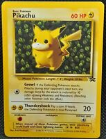 POKÉMON~PIKACHU~N°1~PROMO BLACK STAR~NEAR MINT~ENGLISH