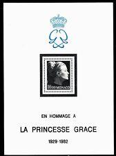 SELLOS TEMA CINE. MONACO 1983 Homenaje a Grace Kelly HB 24