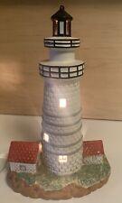 Lefton 1992 Boston Harbor Lighthouse 1783 hand painted Figurine